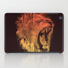 FIERCE LION iPad Case