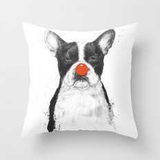 I'm Not Your Clown Throw Pillow