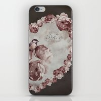 Heart of Roses iPhone & iPod Skin