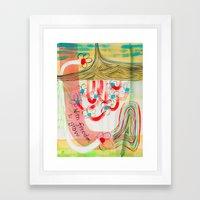 With Freedom To Grow (No… Framed Art Print