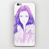 Wolf Spirit iPhone & iPod Skin