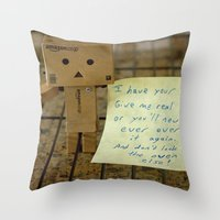 I Have Your Cake... Throw Pillow