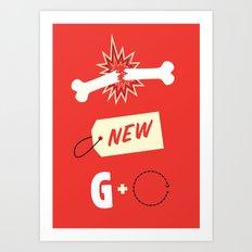 Break New Ground Art Print