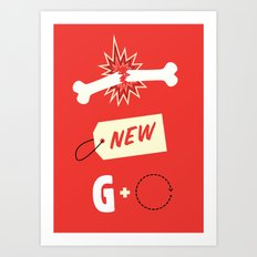 Break New Ground Art Print