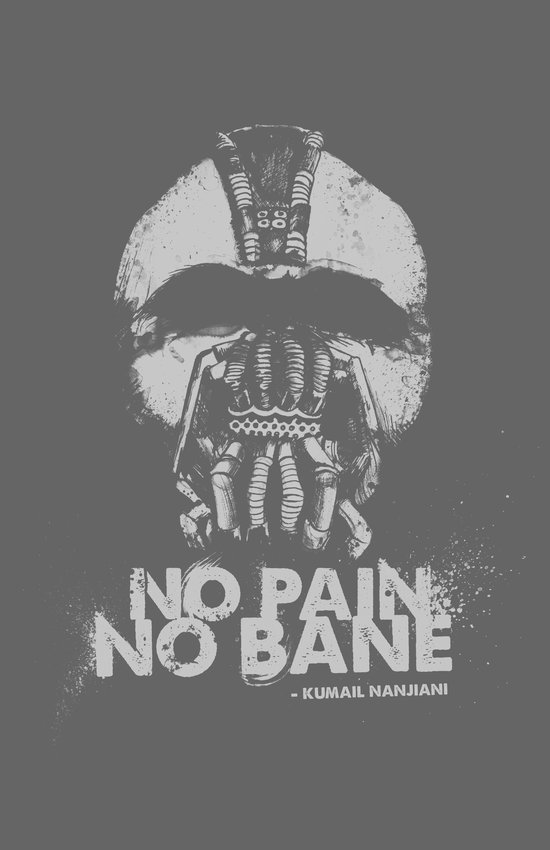 No Pain, No Bane Art Print