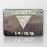 FEAR NONE Laptop & iPad Skin