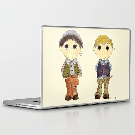 The Twins: Hugo & Harry Laptop & iPad Skin