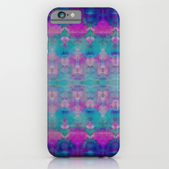 Watercolour Tribal Pink iPhone & iPod Case