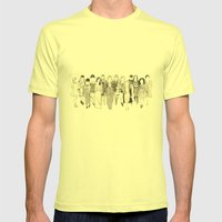 Fall 2012 Mens Fitted Tee Lemon SMALL