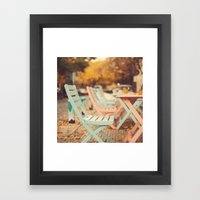 Dream Autumn (Pink And B… Framed Art Print