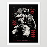 In Ashes Art Print