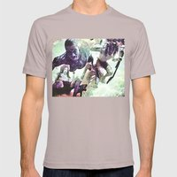 Swim good Mens Fitted Tee Cinder SMALL