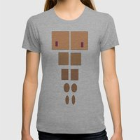 ABSstract! Womens Fitted Tee Athletic Grey SMALL