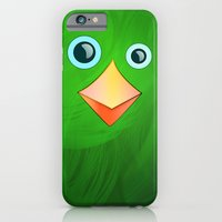 iPhone & iPod Case featuring BIRDY by Lazar Alex