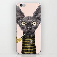 Black Cat iPhone & iPod Skin