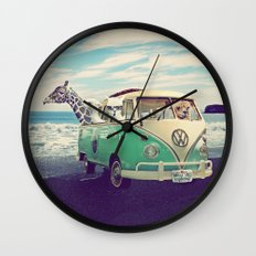 NEVER STOP EXPLORING THE… Wall Clock