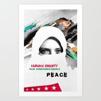 Freedom For Syria Art Print