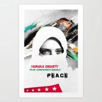 Freedom For Syria Art Print