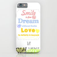 {ENG} SMILE · DREAM · LOVE iPhone 6 Slim Case