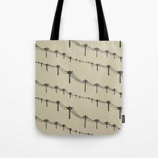 Metal Trees Tote Bag