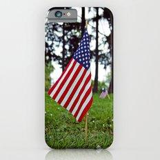 Aesthetic flag iPhone 6 Slim Case