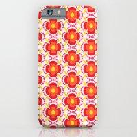 Retro happy bright floral 2 iPhone 6 Slim Case