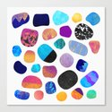 Magic Stones (Light background) Canvas Print