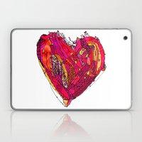 Funky Heart Laptop & iPad Skin