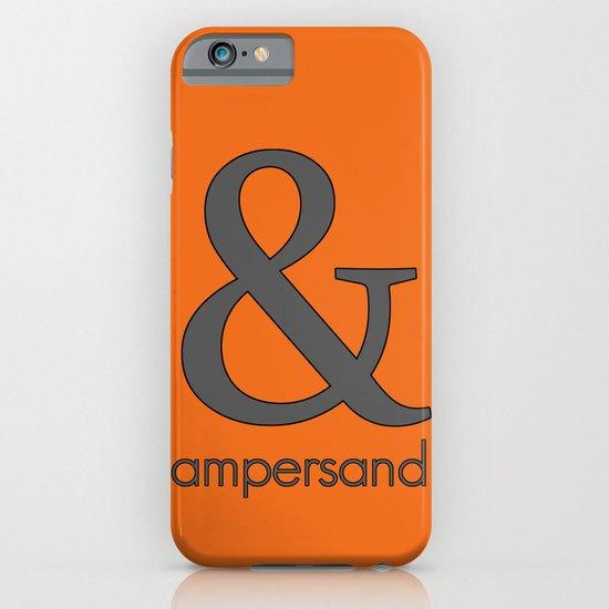 Ampersand iPhone & iPod Case