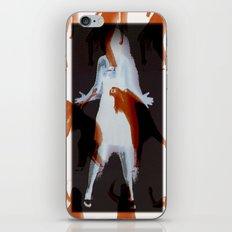 Orange dancer iPhone & iPod Skin