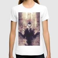 Jerome Valeska - Gotham Womens Fitted Tee White SMALL