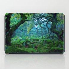 Enchanted forest mood iPad Case