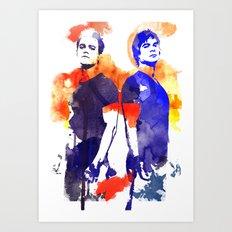 The Salvatore Brothers Art Print