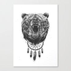 Don't Wake The Bear Canvas Print