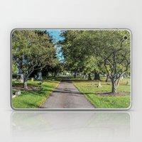 Cemetery Entrance Laptop & iPad Skin
