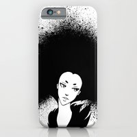 iPhone & iPod Case featuring Inky Afro by Caz Lock