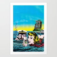 The Time To Think Art Print