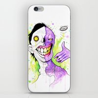Two-Face iPhone & iPod Skin