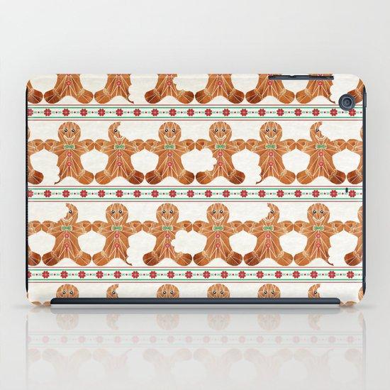 gingerbread man iPad Case