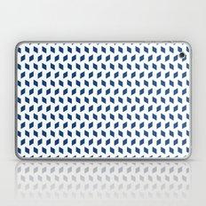 rhombus bomb in monaco blue Laptop & iPad Skin
