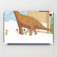 Book Dinossaur iPad Case