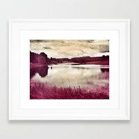 River of Pink Framed Art Print