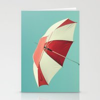 Rainy Days don't Last Forever Stationery Cards