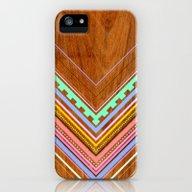 Aztec Arbutus iPhone (5, 5s) Slim Case