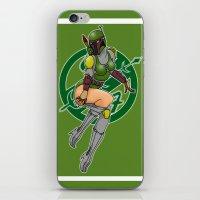 Star Wars Fett pinup iPhone & iPod Skin