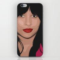 ZOE KRAVITZ iPhone & iPod Skin