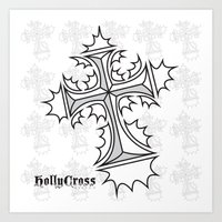 Hollycross Logo Art Print