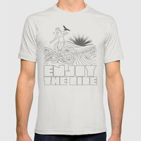 Expression Session Mens Fitted Tee Silver SMALL