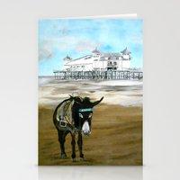 Seaside Donkey Stationery Cards