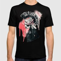 PUNK Mens Fitted Tee Black SMALL